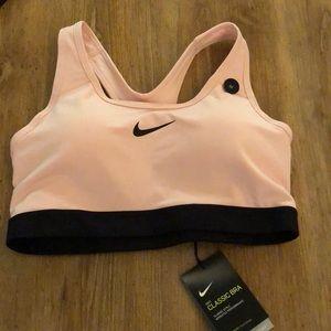 Nike classic bra in light pink